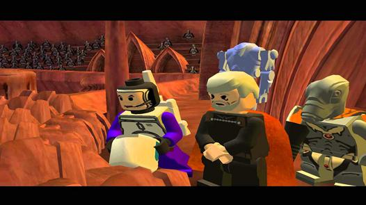 lego star wars vidéo