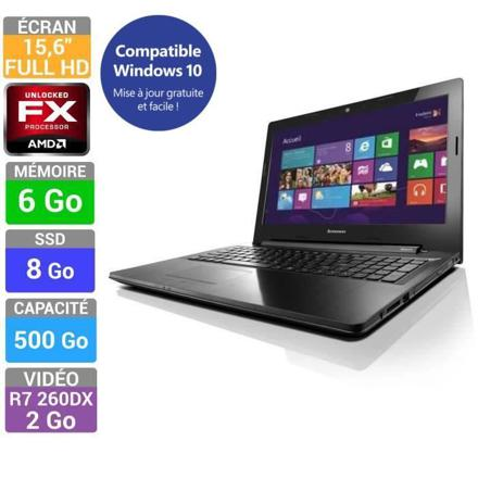 lenovo pc portable - z50-75