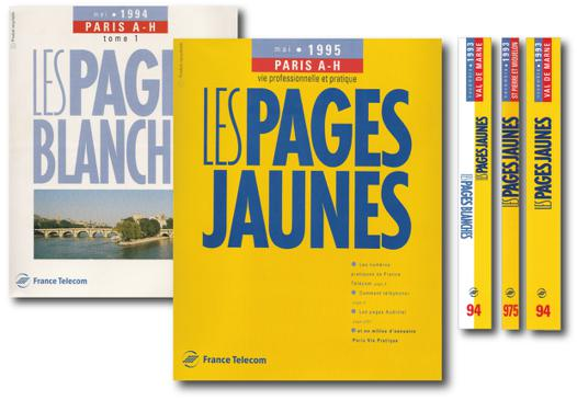 les pages blanches 14