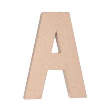 lettre en carton 30 cm