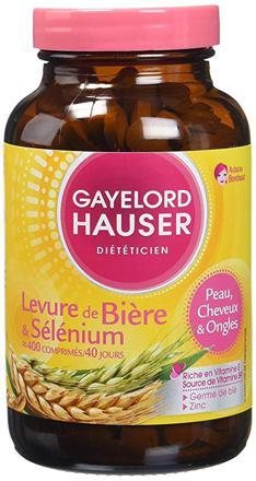 levure de biere germe de ble selenium