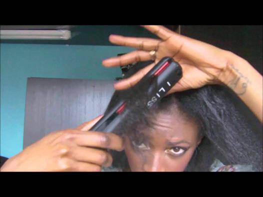lisseur cheveux afro