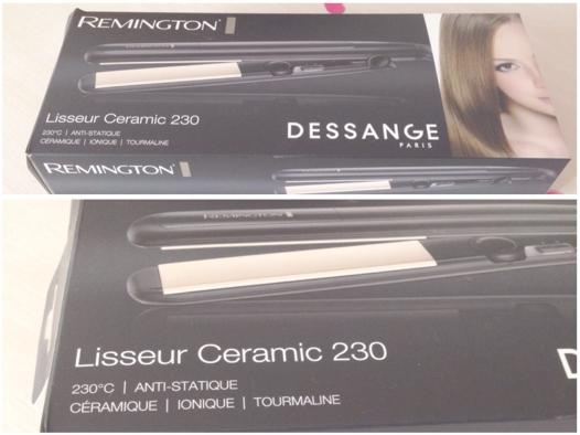 lisseur tourmaline remington