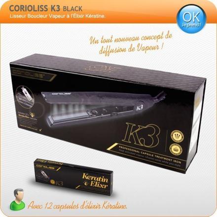 lisseur vapeur corioliss k3