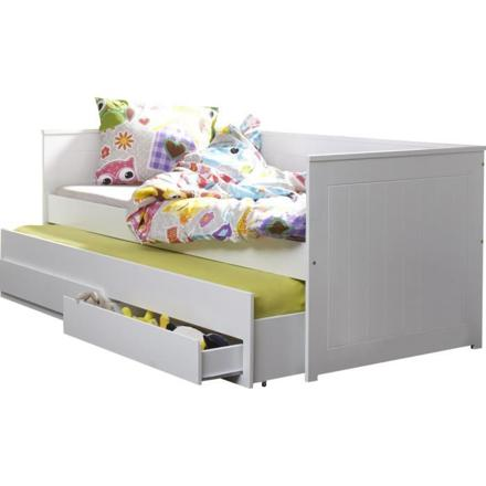 lit gigogne avec rangement