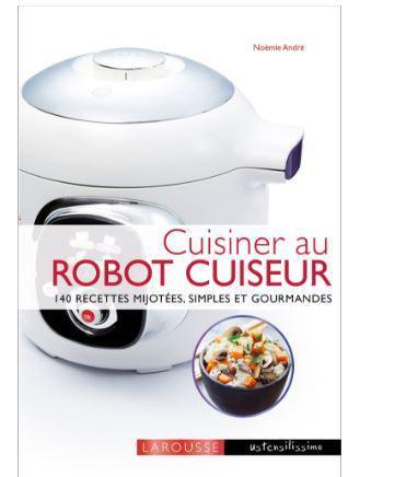 livre cuisiner au robot cuiseur