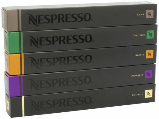 lot capsule nespresso