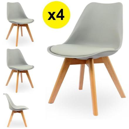 lot chaises scandinaves