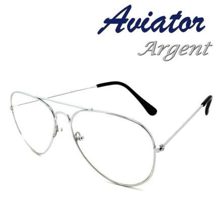 lunette aviateur femme transparente