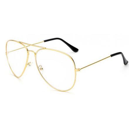 lunette aviateur verre transparent