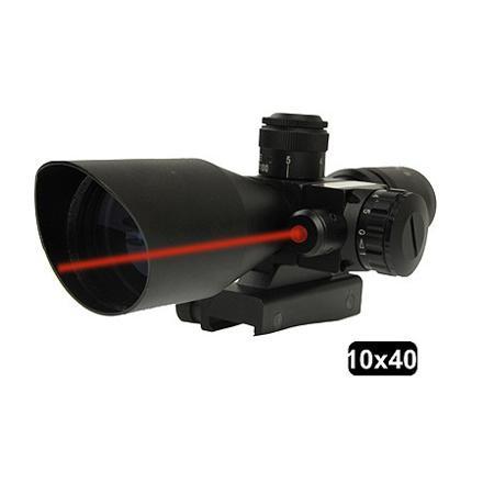 lunette de visée point rouge laser