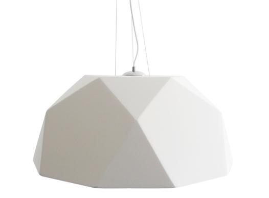 lustre blanc design