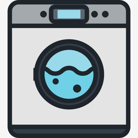 machine à laver dessin