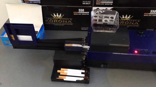 machine a tuber les cigarettes automatique