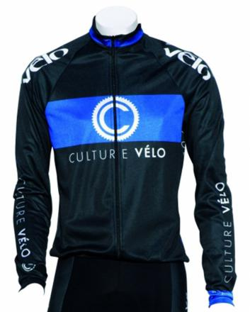 maillot manches longues velo