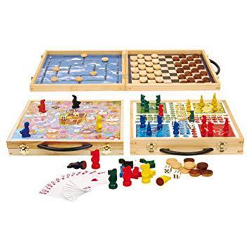 malette de jeu en bois