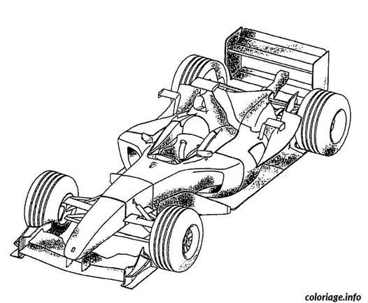 mandala voiture de course