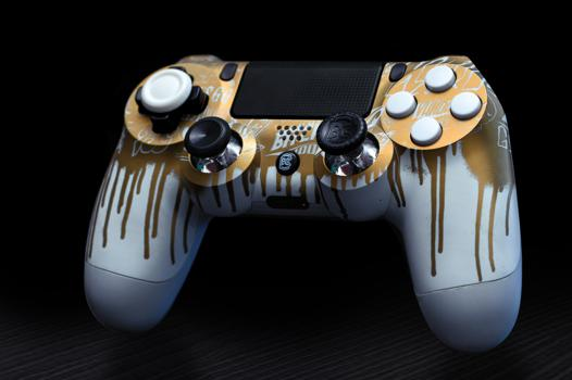 manette ps4 burn