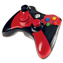 manette xbox 360 rouge et noir