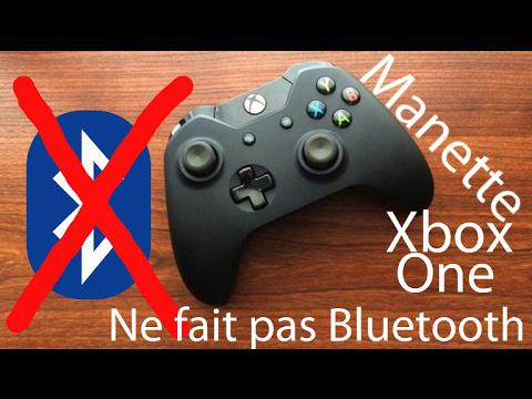 manette xbox one pc bluetooth