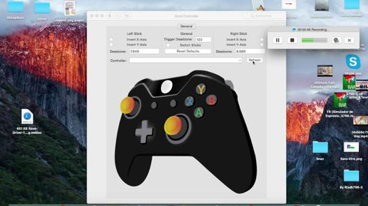 manette xbox one sur mac