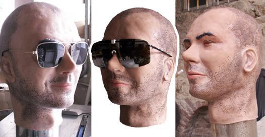 masque latex sur mesure