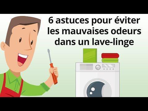 mauvaise odeur lave linge