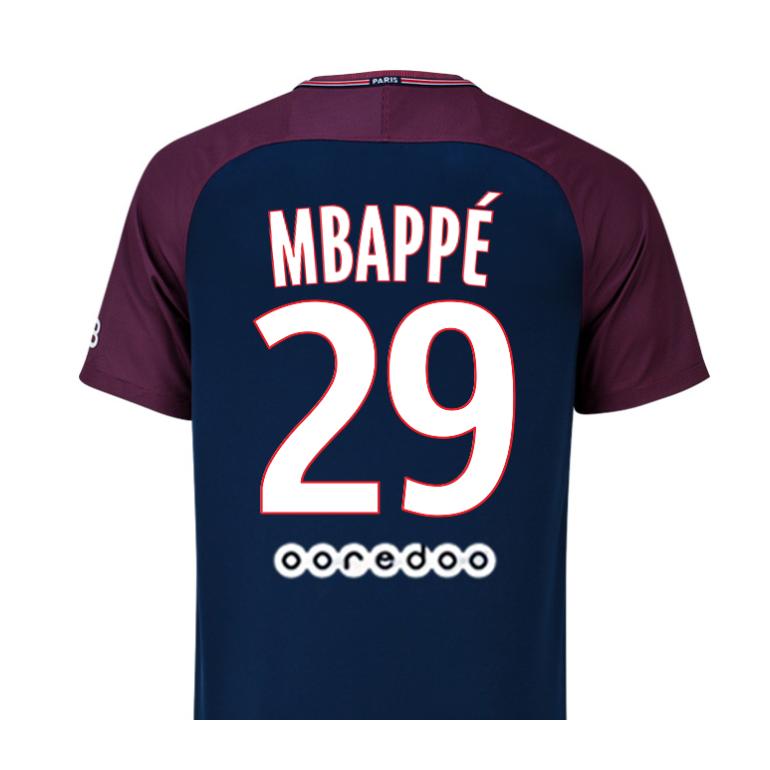 mbappe psg maillot
