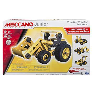 meccano tracteur