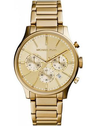michael kors montre homme or