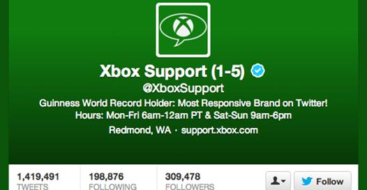 microsoft support xbox