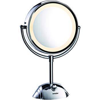 miroir grossissant babyliss lumineux