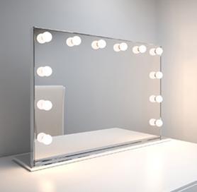 miroir maquillage lumineux professionnel