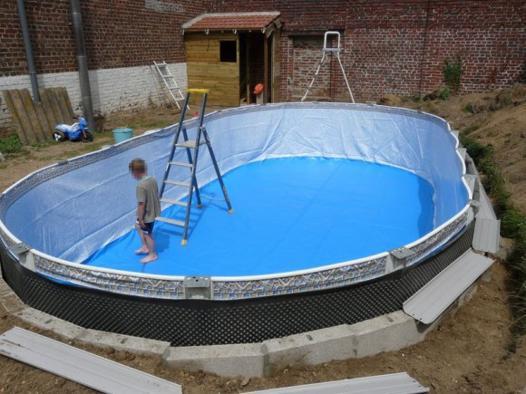 mise en eau piscine hors sol