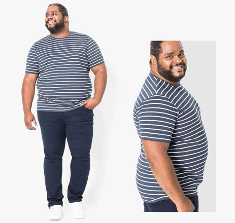 mode grande taille homme