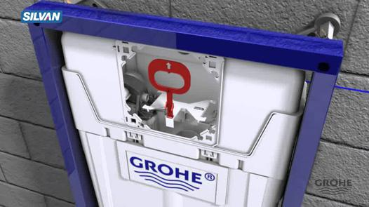 montage wc grohe