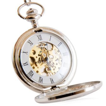 montre à gousset ouverte