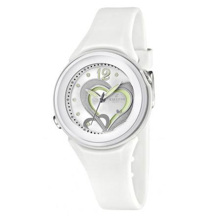 montre blanche fille