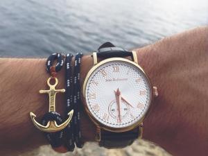 montre et bracelet ancre
