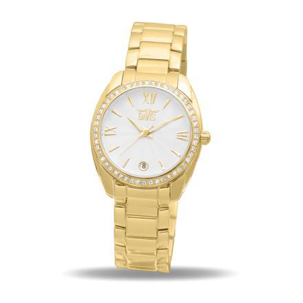 montre femme or