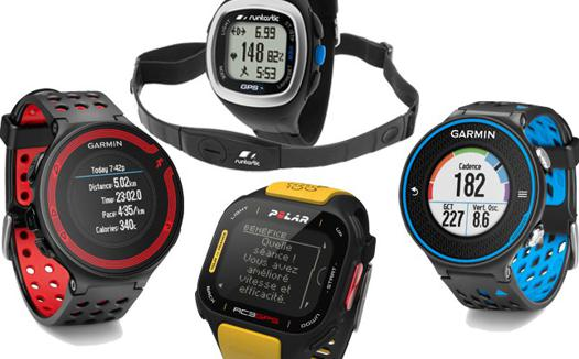 montre gps compatible runtastic