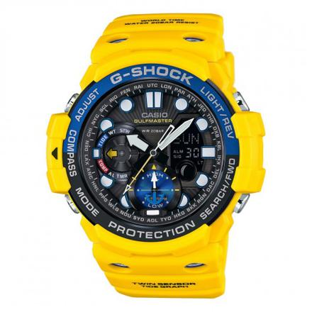 montre jaune homme