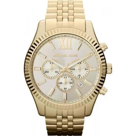 montre mk homme or