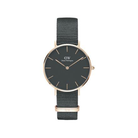 montre noir daniel wellington