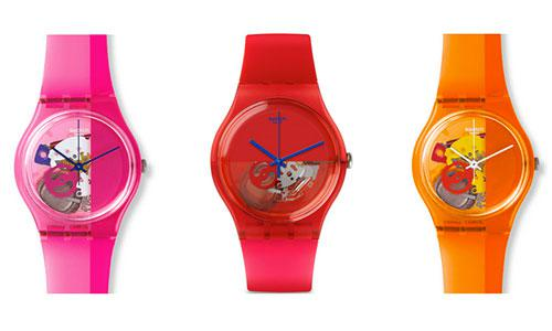 montre swatch ado fille