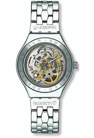 montre swatch squelette