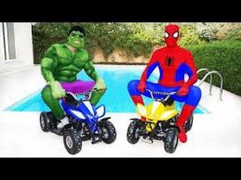 motos de spiderman