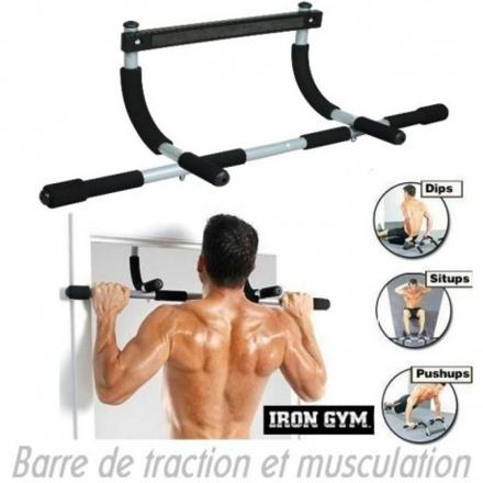 musculation barre traction