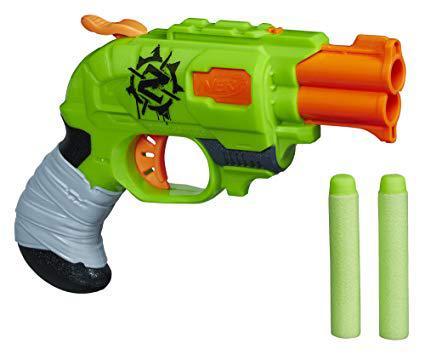 nerf pistolet zombie