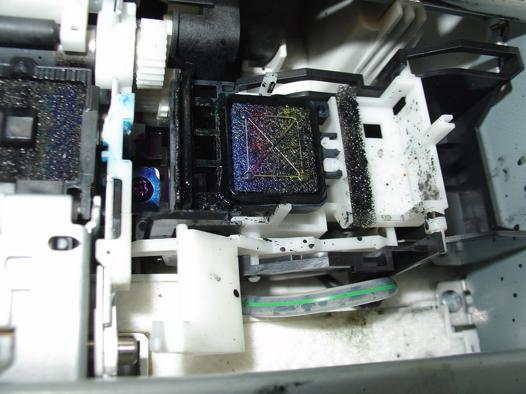 nettoyage de tete imprimante